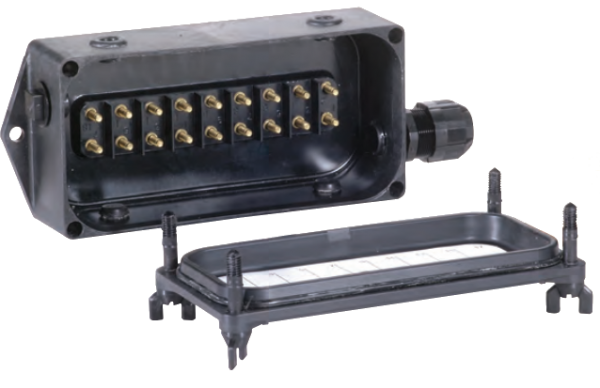 BETTS Junction Box Complete Unit- UNDRILLED